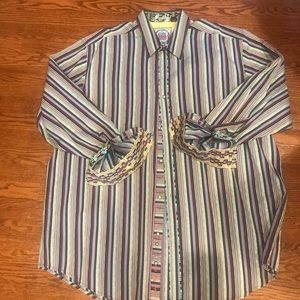 Robert Graham 3XL casual shirt